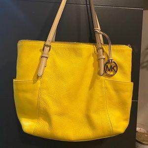 Yellow Micheal kor purse